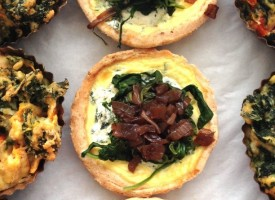 savory tarts and tortas