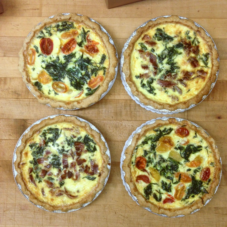 butterscotchs hand crafted quiche